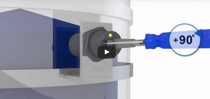 Bedienungsanleitung für bündig in Metall einbaubare kapazitive Näherungsschalter von RECHNER Sensors