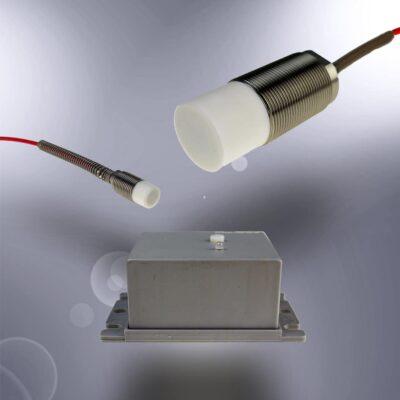 Sensores capacitivos con distancias de conmutación muy largas (KXS)