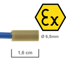 Inductive Proximity Sensors for ATEX Zone 0 and 20 – The Smallest of its Kind.